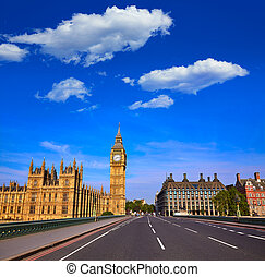 Big Ben Clock Tower in London England - Big Ben Clock Tower ...