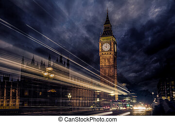 Big Ben Clock Tower in London England