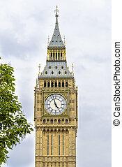 Big Ben (clock tower) in London
