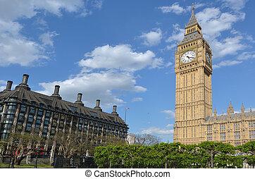 Big Ben clock tower London UK