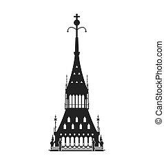 big ben icon. United kingdom design. Vector graphic