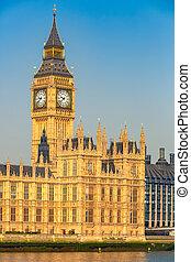 Big Ben in London, UK