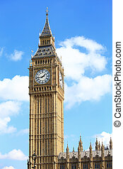Big Ben in London, United Kingdom, uk