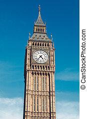 big ben, in, london, vereinigtes königreich