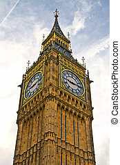 Big Ben in the city of London