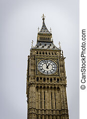 Big Ben in Westminster, London