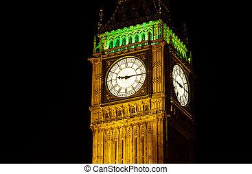 Big Ben, London at night