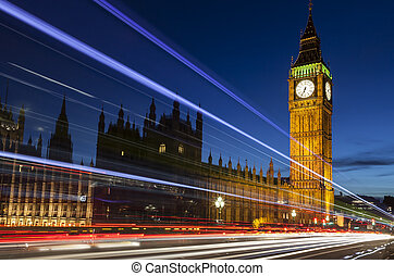 Big Ben London England by Night