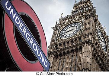 Big Ben London - Big Ben tower clock London