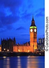 Big Ben London - Big Ben and River Thames International...