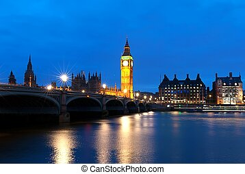 Big Ben, one of the most prominent symbols of both London ...