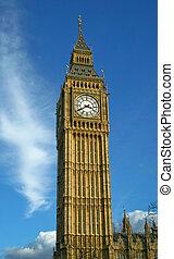 Big Ben - Whole view of clock tower Big Ben