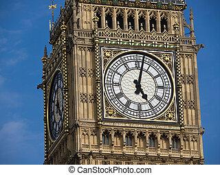 big ben tower in London uk