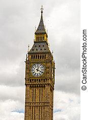 big ben, und, häuser parlaments, london, vereinigtes königreich
