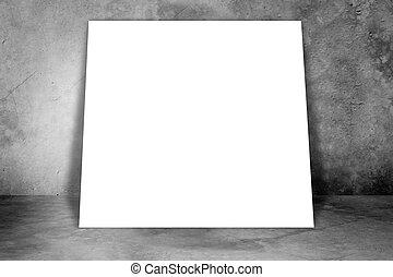 Big blank banner