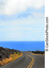 Big blue and Lava Field