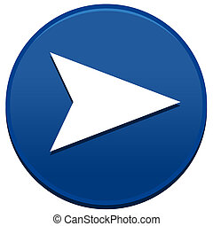 Big Blue Arrow Button