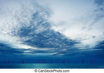 big blue sky turbine