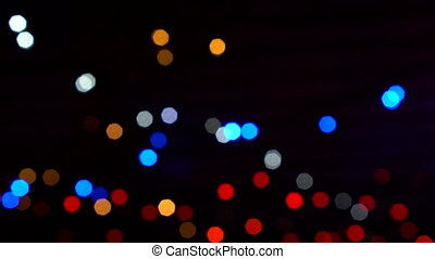 big bokeh lights background