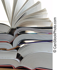Big books - Big stack of books