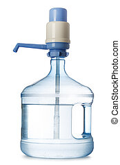 Big bottle of water with pump
