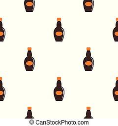 Big bottle pattern seamless
