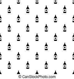Big bottle pattern vector
