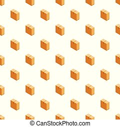 Big box pattern seamless vector