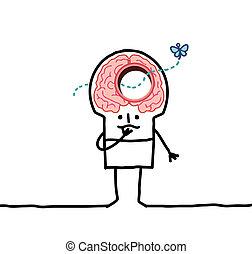 big brain man & memory desorders