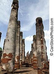 Big brick columns
