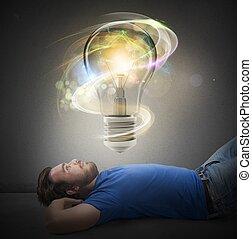 Big bright idea