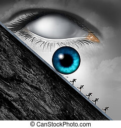Big Brother Concept - Big brother concept as a surveillance...