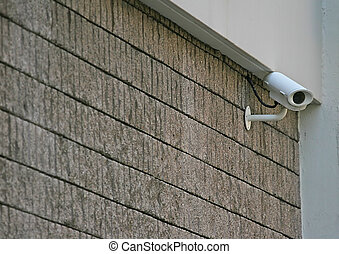 Big Brother - Security Camera on the corner of a building