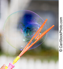 big bubble in nature