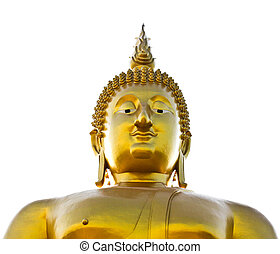 Big buddha statue at Wat muang, Thailand.