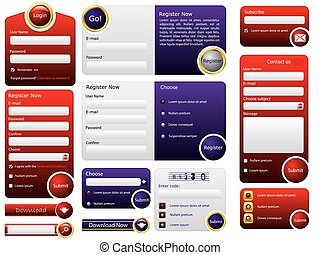Big button web form design