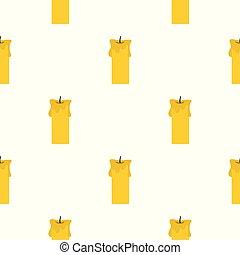 Big candle pattern seamless