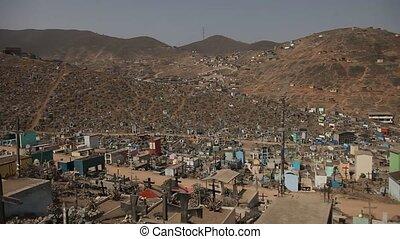 Big Cemetery, Peru - Biggest Cemetery in Southamerica and...