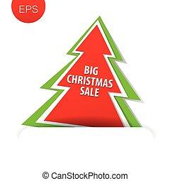 big christmas sale tree