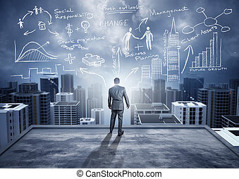 Big City Big Ideas - Business Ideas - conceptual. A...