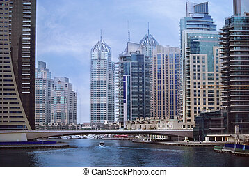 Dubai Marina - Big city, Dubai Marina, United Arab Emirates