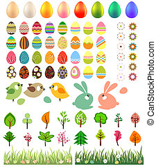 Big collection of  easter eggs