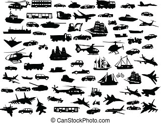 collection of transportation - Big collection of ...