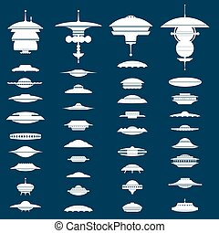UFO - Big collection of UFO crafts and Space Stations...