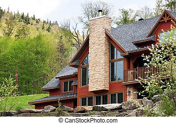 Big cottage on the hills