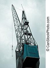 Big crane in port