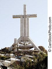 Big cross - Third Milennium Cross in Coquimbo, Chile