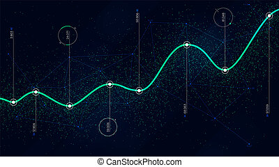 Big data algorithms visualization technologies infographic...