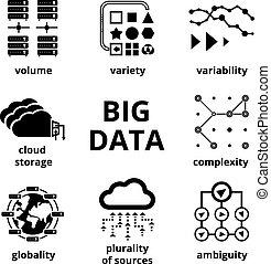 Big data icons