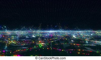 Big Data internet mobile digital concept